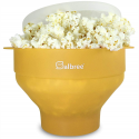 Deals List: The Original Salbree Microwave Popcorn Popper, Silicone Popcorn Maker, Collapsible Bowl BPA Free
