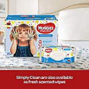 Deals List: HUGGIES Simply Clean Fragrance-Free Baby Wipes, Soft Pack (9-Pack, 576 Sheets Total), Alcohol-Free, Hypoallergenic