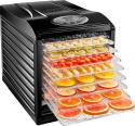 Deals List: CHEFMAN - 9-Tray Food Dehydrator - Black, RJ43-SQ-9