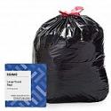 Deals List: Amazon Brand - Solimo Multipurpose Drawstring Trash Bags, 30 Gallon, 50 Count