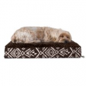 Deals List: Furhaven Pet Dog Bed Deluxe Orthopedic Plush Kilim Pet Bed