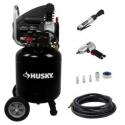 Deals List: Husky 10 Gal. Portable Electric Air Compressor L210VWDVP