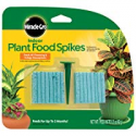 Deals List: Miracle-Gro 300157, 48 Indoor Plant Food Spikes, pk, GREEN