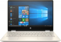 """Deals List: HP - Pavilion x360 2-in-1 14"""" Touch-Screen Laptop - Intel Core i5 - 8GB Memory - 128GB Solid State Drive - Anodized Finish In Warm Gold And Luminous Gold, 14M-DH0003DX"""