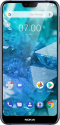 Deals List: Nokia - 7.1 with 64GB Memory Cell Phone (Unlocked) - Blue
