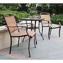 Deals List: allen + roth 116.14-in W x 116.14-in L x 94.3-in H Tan/Black Material Freestanding Pergola Canopy Included