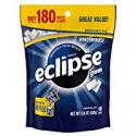 Deals List: Eclipse Winterfrost Sugarfree Gum, 180 Piece Bag
