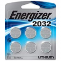 Deals List: Energizer CR2032 Batteries, 3v Lithium 2032 Watch Battery, (6 Count)
