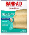 Deals List: Band-Aid Brand SKIN-FLEX™ Adhesive Bandages for First Aid and Wound Care, Extra Large Size, 7 ct