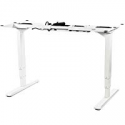 Deals List: VIVO White Electric Dual Motor Stand Up Desk Frame