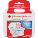 Deals List: Johnson & Johnson First Aid To Go Kit (Pack of 12 Items)