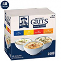 Deals List: Quaker Instant Grits, 4 Flavor Variety Pack, 0.09oz Packets (48 Pack)
