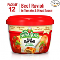 Deals List: Chef Boyardee Beef Ravioli, 7.5-Ounce Microwavable Bowls (Pack of 12)