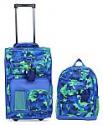 Deals List: Crckt Kids 2-Pc. Printed Carry-On Suitcase & Backpack Set