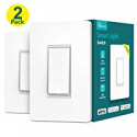 Deals List: 2-Pack Treatlife Wi-Fi Light Switch Compatible with Alexa