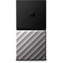 Deals List: WD 512GB My Passport SSD Portable Storage - USB 3.1 - Black-Gray - WDBK3E5120PSL-WESN