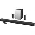 "Deals List: VIZIO - SmartCast 5.1 Channel Sound Bar System with 5-1/4"" Wireless Subwoofer - Black, SB3651-E6"