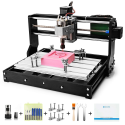 Deals List: Genmitsu CNC 3018-PRO Router Kit GRBL Control 3 Axis Plastic Acrylic PCB PVC Wood Carving Milling Engraving Machine, XYZ Working Area 300x180x45mm