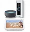 Deals List: Ring Video Doorbell Pro WiFi 1080p Camera + Amazon Echo Show 5 Smart Display + Echo Dot (3rd Gen)