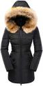 Deals List: Womens Heavyweight Parka Jacket with Detachable Hood