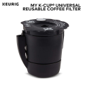 Deals List: Keurig My K-Cup Universal Reusable Ground Coffee Filter, Compatible with All Keurig K-Cup Pod Coffee Makers (2.0 and 1.0)