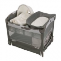 Deals List: Graco Pack 'n Play Cuddle Cove LX Playard with Vibrating Baby Seat, Glacier