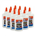 Deals List: Elmer's Liquid School Glue, Washable, 4 Ounces Each , 12 Count - Great for Making Slime