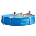 Deals List: Intex 12' x 30'' Metal Frame Above Ground Swimming Pool with Filter Pump