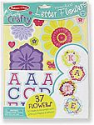 Deals List: Melissa & Doug Simply Crafty Personalized Letter Flowers - 37 Flowers