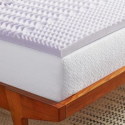 Deals List: LUCID 2 in. Zoned Lavender Infused Memory Foam Mattress Topper