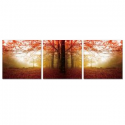 Deals List: Furinno 20 in x 60 in Autumn Leaves Printed Canvas Wall Art