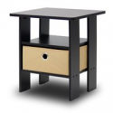 Deals List: Furinno Andrey End Table Night Stand w/Bin Drawer