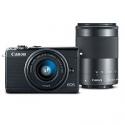 Deals List: Canon EOS M100 24.2MP Camera + 2 Lenses + 16GB SD Card
