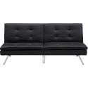 Deals List: DHP Chelsea Convertible Pillow-Top Sofa Futon, Black
