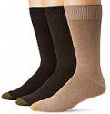 Deals List: Gold Toe Men's 3-Pack Micro Flat Knit Crew Socks