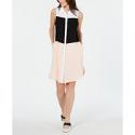 Deals List: Alfani Colorblocked Shirtdress Womens