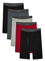 Deals List:  10-Pack Fruit of the Loom CoolZone Fly Dual Defense Men's Boxer Briefs (Black/Gray or Blue)