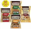 Deals List: Snyder's of Hanover Pretzels Variety Pack, 4 Flavors, 36 Individual Snack Bags