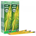 Deals List: Ticonderoga Pencils, Wood-Cased, Graphite #2 HB Soft, Yellow, 96-Pack (13872)