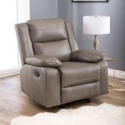 Deals List: Rocking Chair with Leather Match Seat and Back Tobacco and Dark Brown