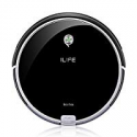Deals List: ILIFE A6 Robotic Vacuum Cleaner, Piano Black with Dust Bin
