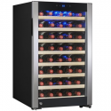 Deals List: AKDY 52 Bottles Built-in Compressor Single Zone Adjustable Touch Control Panel Freestanding Wine Cooler Refrigerator