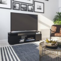 "Deals List: Ameriwood Home Carson TV Stand for TVs up to 65"", Black Oak"