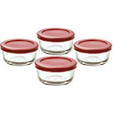 Deals List: Anchor Hocking 2-Cup Glass Storage Set with Lids, 6-Piece