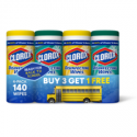 Deals List: 140-Count Clorox Disinfecting Wipes Bleach Free Cleaning Wipes