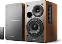 Deals List: Edifier R1280T Powered Bookshelf Speakers - 2.0 Active Near Field Monitors - Studio Monitor Speaker - Wooden Enclosure - 42 Watts RMS