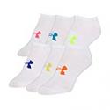 Deals List: Under Armour Women's Essential No-Show Liner Socks 6 Pairs