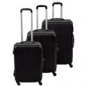 Deals List: 3 Pcs FDW Luggage Travel Set W/ Tsa Lock