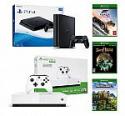 Deals List: PlayStation 4 Slim 1TB Console Black + Xbox One S 1TB All-Digital Edition Gaming Console
