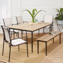Deals List: Mainstays Seiland Bay 6-Piece Patio Sling Mesh Dining Set
